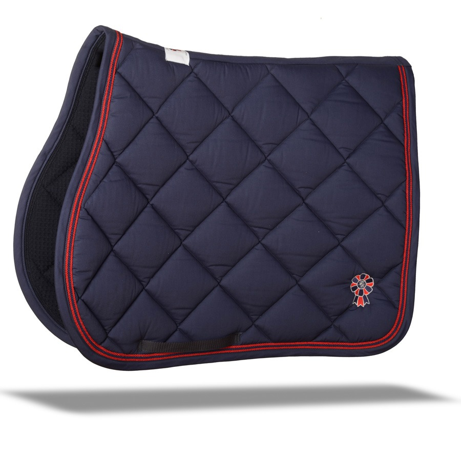 Blue Saddle Pad